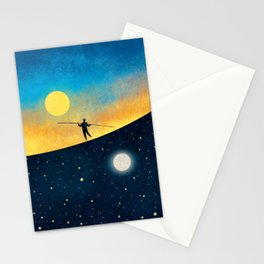 The Tightrope Walker G Stationery Cards