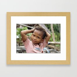 Is That What You Reckon? Framed Art Print