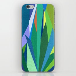 Abstract Geometric Garden iPhone Skin