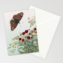 'Serenity only a deliberate hebitude' Stationery Cards