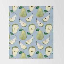 pears Throw Blanket