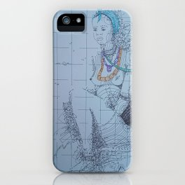 Dipo 2 / African Initiation iPhone Case