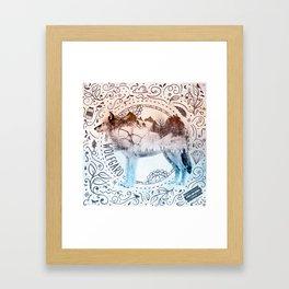 Wolfgard (Terra Indigene) Framed Art Print