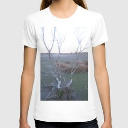 Knocked Over Bent Tree T-shirt