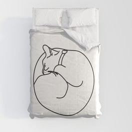 Sleeping Cat Comforters