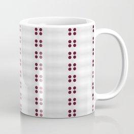 In Line Coffee Mug