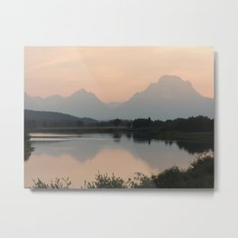 Mountain Dreams Metal Print