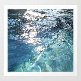 Water, Water Everywhere Art Print