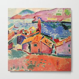 Henri Matisse The Roofs of Collioure Metal Print