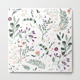 Spring Florals Metal Print