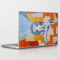 donkey Laptop & iPad Skins featuring DONKEY by Leonard Lesic
