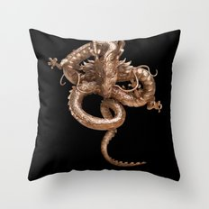 Cool Gold Dragon iPhone 4 4s 5 5c 6 7, pillow case, mugs and tshirt Throw Pillow