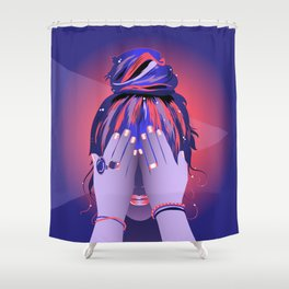 Your Mind Palace Shower Curtain