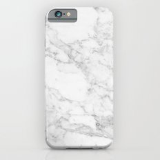 White Marble Edition 2 Slim Case iPhone 6