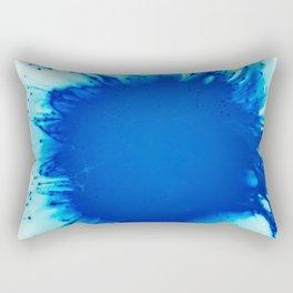 Blue eye Rectangular Pillow