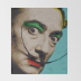 Poster Salvador Dali Throw Blanket