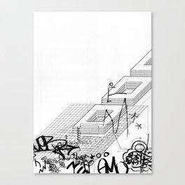 AutoCUNT 004 Canvas Print