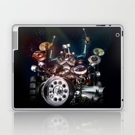 Drum Machine - The Band's Engine Laptop & iPad Skin
