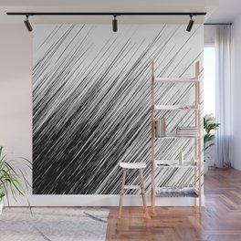 White Black Silver 1 Wall Mural