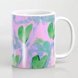 Waving Hearts ~ Green With Love Coffee Mug