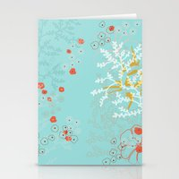 under the sea Stationery Cards featuring Under the Sea by Simi Design