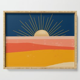 Here comes the Sun Serving Tray