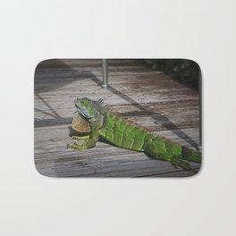 Cayman Iguana I Bath Mat