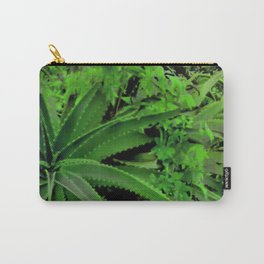 Vivid Tropical Design Carry-All Pouch