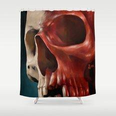 Skull 9 Shower Curtain
