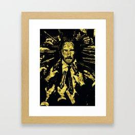 John Wick - The Legend Framed Art Print