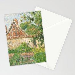 "Camille Pissarro ""Coin du jardin à Éragny"" (1899)(""Corner of the garden in Éragny"" Stationery Cards"