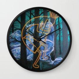 Kokopelli Wall Clock