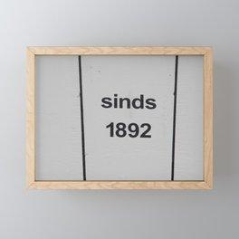 est. 1892 Framed Mini Art Print