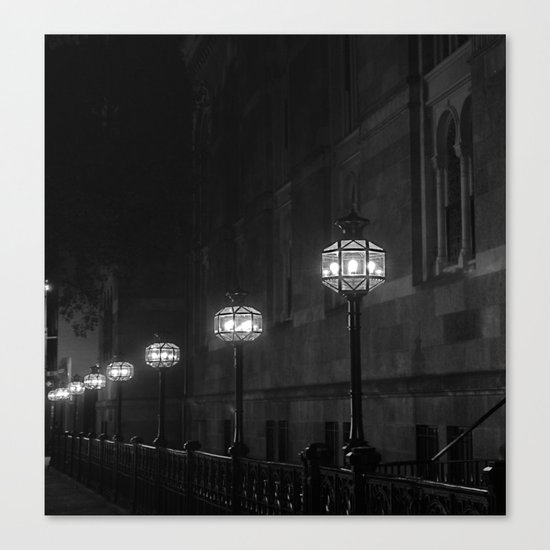 Late Night Lights Canvas Print