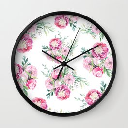hurry spring Wall Clock