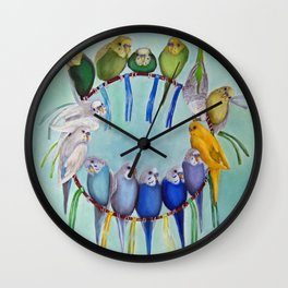 Joycatcher Wall Clock