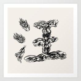 Wang Art Print