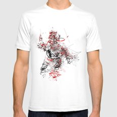 szilzkitz Mens Fitted Tee White SMALL