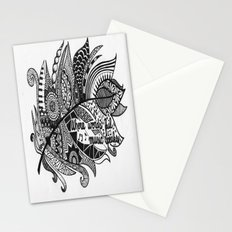Zentangle Feather Stationery Cards