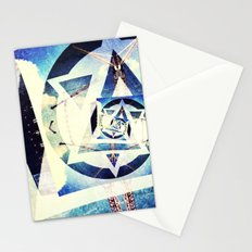 Endless triangles Stationery Cards