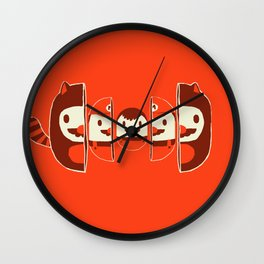 Mario-shka Wall Clock