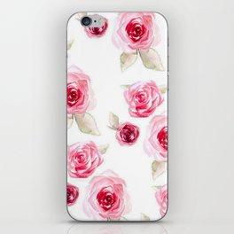 Roses in bloom iPhone Skin