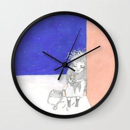 La pequeña vendedora de cerillas Wall Clock