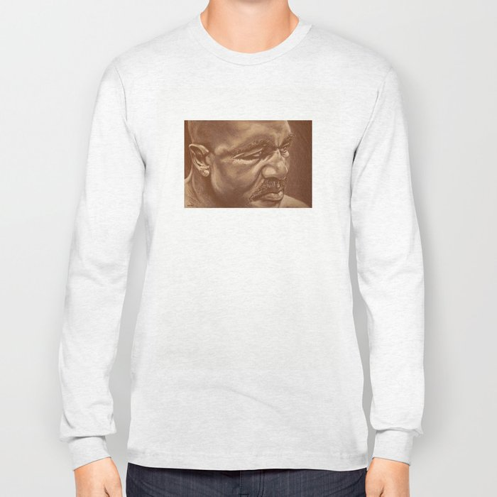 round 5...evander holyfield Long Sleeve T-shirt