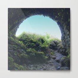 Ancient Lava Tube: Big Island of Hawaii Metal Print