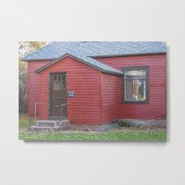 Abandoned House, Chaseley, North Dakota 4 Metal Print