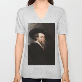 Peter Paul Rubens - Portrait of the Artist Unisex V-Neck