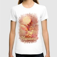 macarons T-shirts featuring Love Macarons! by Andras Balogh