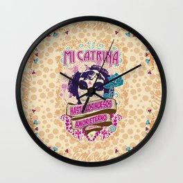 My Catrina Wall Clock