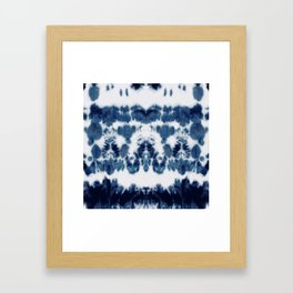 Shibori Not Sorry Framed Art Print